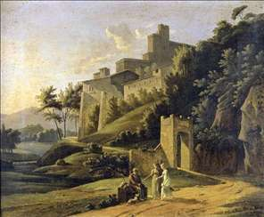 Landscape with a Fortress and a Beggar
