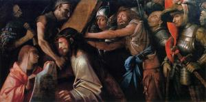 Road to Calvary with Veronica's Veil