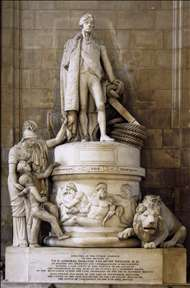 Monument to Vice-Admiral Horatio Nelson