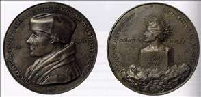 Portrait Medal of Erasmus