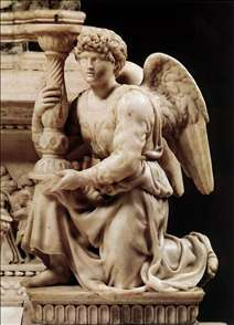 Angel with Candlestick