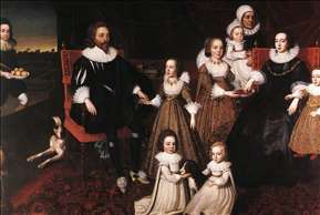 Sir Thomas Lucy and his Family