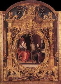St Luke Painting the Virgin's Portrait