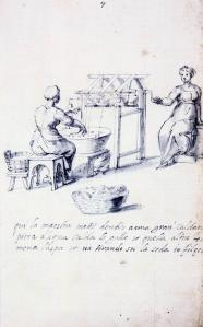 Treatise on Silk Culture and Manufacture (Series of Thirteen Drawings, No. 7)