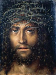 Christ's Head with Crown of Thorns