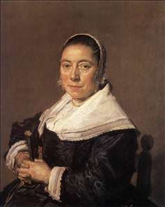 Portrait of a Seated Woman (presumedly Maria Vernatti)