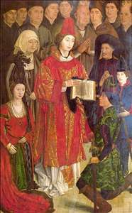 Altarpiece of Saint Vincent, the panel of the Infants