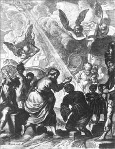 St Philip Baptizing the Eunuch of Candace