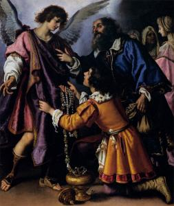 The Archangel Raphael Refusing Tobias's Gift