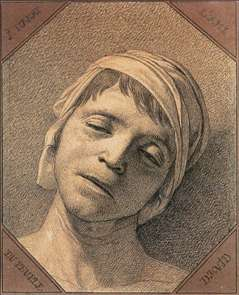 Head of the Dead Marat