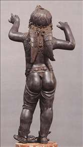 Allegoric Figure of a Boy (Atys), rear view