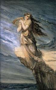 Sappho Leaping into the Sea from the Leucadian Promontory