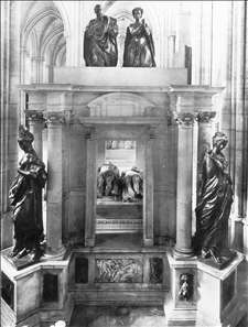Monument to Henri II and Catherine dei Medici
