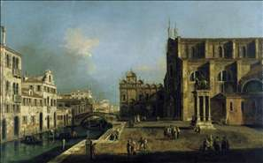 View of Campo SS. Giovanni e Paolo, Venice