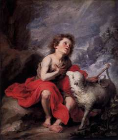St John the Baptist as a Boy