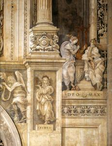 View of the Strozzi Chapel (detail)