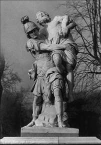 Aeneas Carrying Anchises from Troy