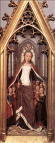 St Ursula Shrine: St Ursula anad the Holy Virgins