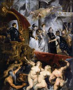 The Landing of Marie de M�dicis at Marseilles