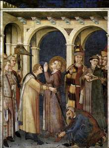 St. Martin is Knighted (scene 3)