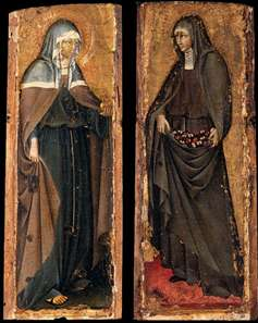 Sts Clare and Elizabeth of Hungary