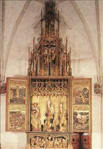 Altarpiece of St Barbara