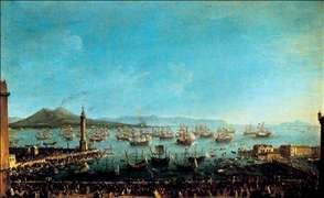 Arrival of Charles III in Naples