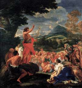 The Preaching of St John the Baptist