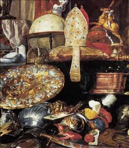 Large Vanitas Still-Life (detail)