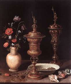 Still-Life with Flowers and Goblets