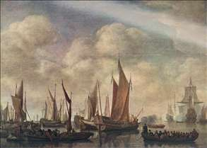 Visit of Frederick Hendriks II to Dordrecht in 1646