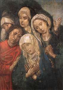 Deposition Diptych (Small Deposition, right wing)