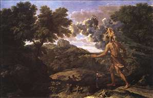 Landscape with Diana and Orion