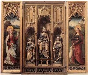 Retable with the Virgin and Child