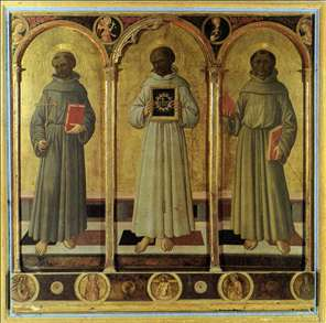 Three Franciscan Saints