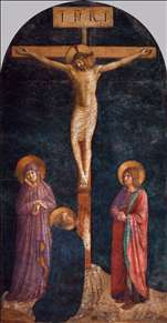 Crucifixion with St Dominic