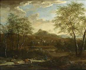 An Extensive Wooded Landscape