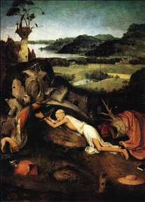 St Jerome in Prayer