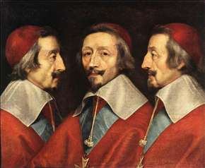 Triple Portrait of Richelieu