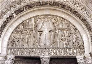 Tympanum of the main portal