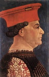 Portrait of Francesco Sforza