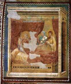 Scenes from the Old Testament: Isaac Blessing Jacob