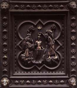 Baptism of Christ (panels of the south doors)