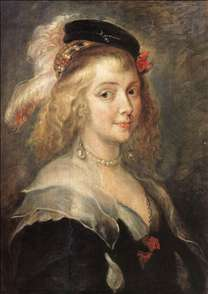 Portrait of Helena Fourment