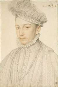 Portrait of Charles IX