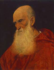 Portrait of an Old Man (Pietro Cardinal Bembo)
