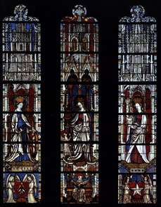 Window with Saints