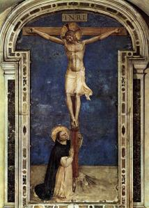 Saint Dominic Adoring the Crucifixion