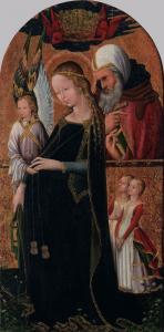 The Expectant Madonna with St Joseph