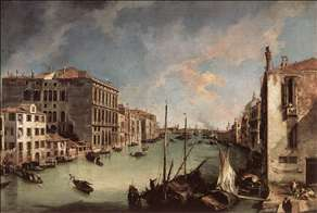 Grand Canal, Looking East from the Campo San Vio